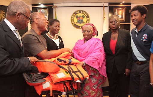 Life jackets donated to lagos state on World Safety Day Celebration
