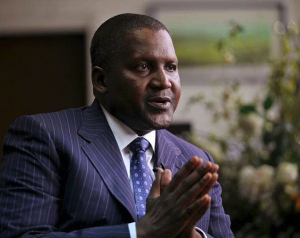 Nigeria's Dangote Cement to sign contracts with China Company