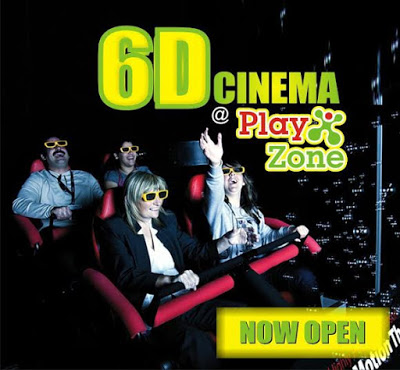 Now Opened - 6D Cinema at Playzone