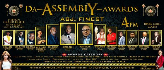 Assembly Awards at Nippon Grand Hotel Abuja