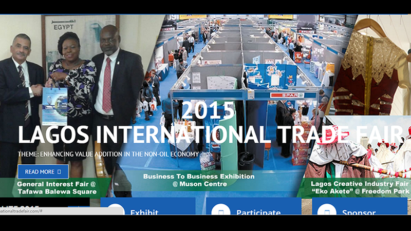 2015 Lagos International Trade Fair is here