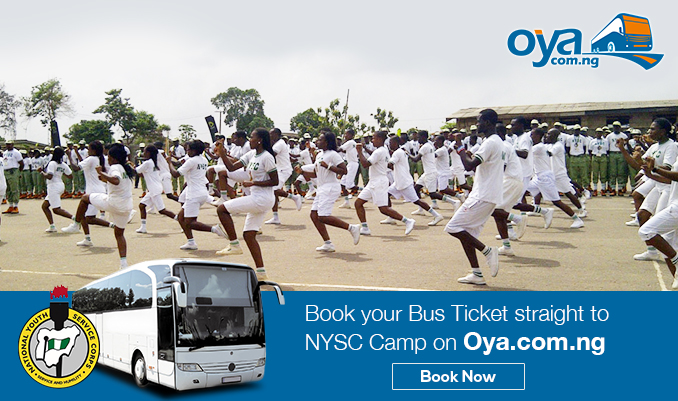 Discount on travel cost for NYSC Corp members
