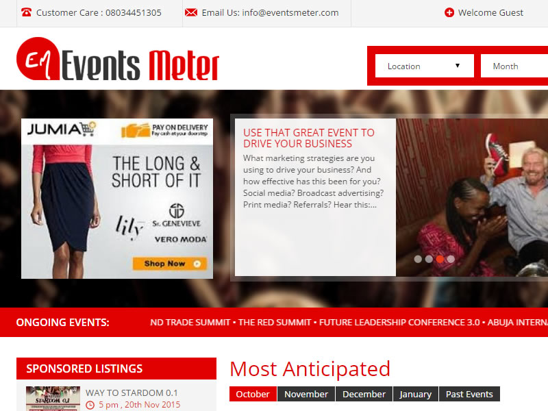 Event Management company of the week - Events Meter