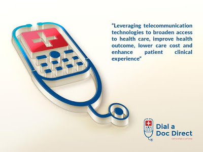 Nigeria's medical support Tele-clinical care center; Dial-A-Doc-Direct!
