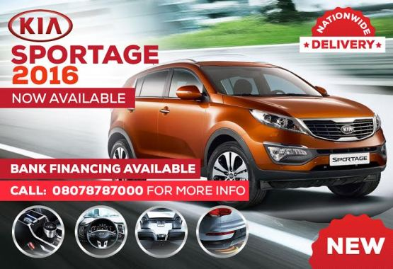 Brand New 2016 Kia Sportage SUV now available