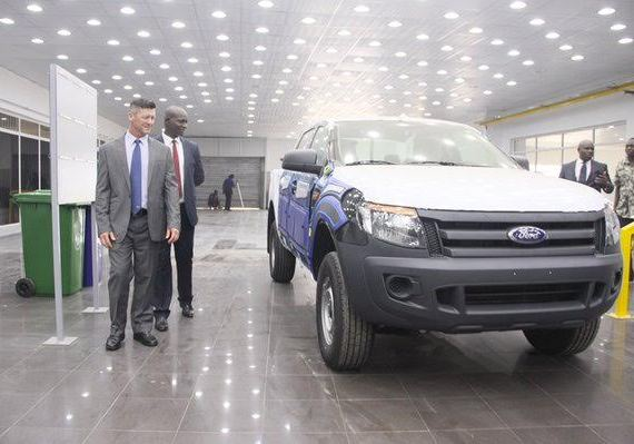 Made in Nigeria Ford Rover car