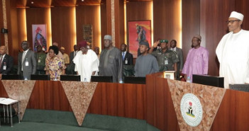 A successful Federal Executive Council Meeting held Today