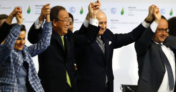 Global climate change agreement formally accepted