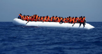 Immigrants brought to safety off the coast of Libya