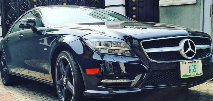 Jude Okoye acquires new Mercedes Benz CLS for new year