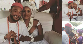 Nollywood Actor Blossom Chukwujekwu Marries Maureen Esisi