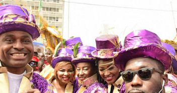 Nollywood stars at 2015 Calabar carnival