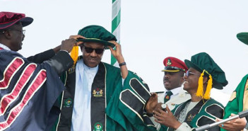 President Buhari Bags Doctorate Degree of Letters
