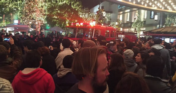STAR WARS Los Angeles Theater evacuated (It was false Alarm)