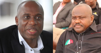 Amaechi asks Wike to Go to Court after denying Spending N82m on Dinner for Soyinka