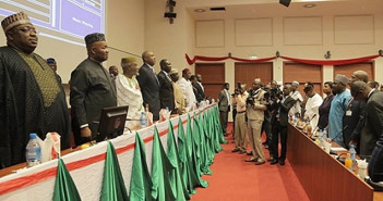 Constitutional Review Committee Inaugurated Today by the Nigerian Senate