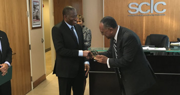 Ex-President Jonathan Honoured in Atlanta by the SCLC