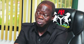 Gov. Adams Oshiomhole blames PDP for the Unrest in Niger Delta Region