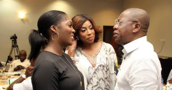 Lai Mohammed meets with Tiwa Savage, Don Jazzy, MI, other entertainers in Lagos