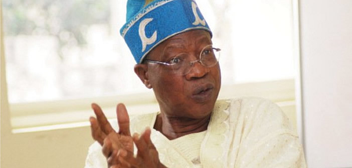 With $30 oil price, we have to proritize and downsize our promises - Lai Mohammed
