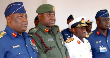 Ex-Chief Of Defence Staff Badeh detained by EFCC, Give Orders To Hold Amosu