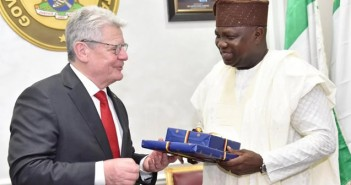 President of Germany Visits Governor Ambode In Lagos