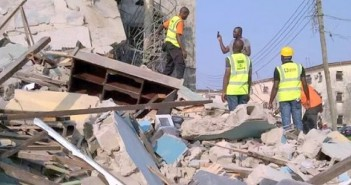 Lagos building collapse : Death toll climbs to 34