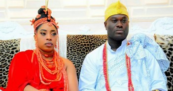 Ooni of Ife with his new wife