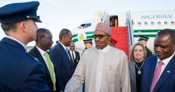 President Buhari arrives Washington DC ahead of Nuclear Security Summit