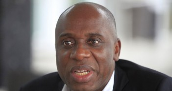 Wike is in government to steal money - Amaechi says
