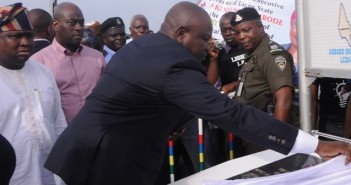Gov. Ambode commissions light up Lagos project on Lagos-Abeokuta Expressway