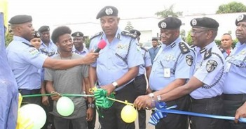 Korede Bello Joins IGP Arase to Unveil monument of the First Indigenous Inspector-General of Police