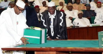Finally, National Assembly send details of the 2016 budget to President Buhari