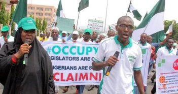 See How much #OccupyNASS Group Received daily for protesting