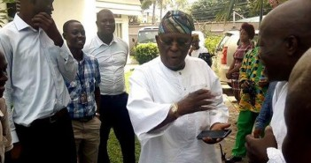 Olusegun Osoba, former Ogun state governor, returns To APC