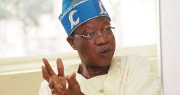 How One Masquerade Can Create Jobs for 1000 Men - Lai Mohammed