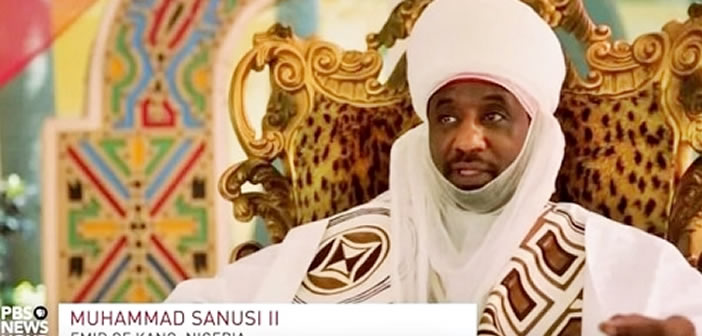 How Jonathan Sent Ben Bruce to Bully Me Over Missing $20bn - Sanusi Opens Up