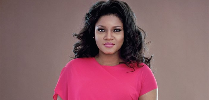 Omotola reveals cause of domestic violence