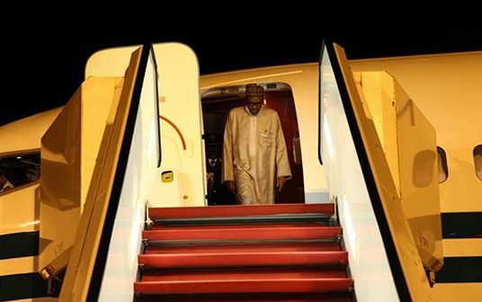 President Buhari arrives Nigeria, after attending UN Assembly  – Photos