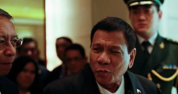 Philippines' Duterte, in China, announces 'separation' from US