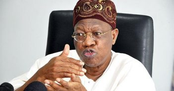 FG not banning overseas production of films — Lai Mohammed