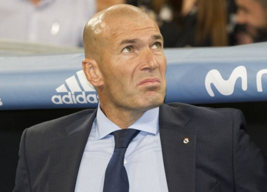 Zidane leads nominees for FIFA coach prize