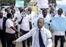 Resident Doctors of Jos Protest Against Management