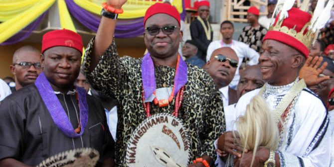 I will restructure senseless EFCC when i Become President - Fayose blows hot