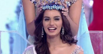 Indian Manushi Chhillar Crowned  2017 Miss World