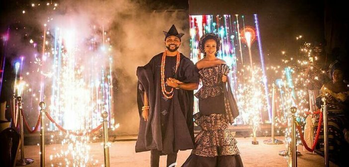 #BAAD2017: Stay off social media, Omotola advises Banky W and Adesua