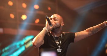 Davido's aide beats up airport security officials