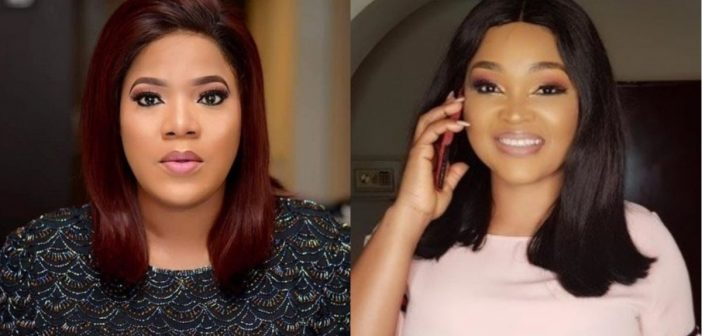 At last! Toyin Abraham apologizes to Mercy Aigbe