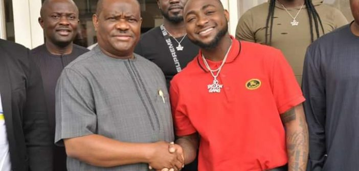 Rivers Govt, Davido partner to groom artistes