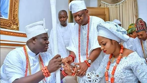 Ooni's ex-wife, congratulates him on new marriage